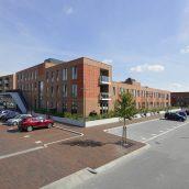 Winkelcentrum en woningen Hanzewijk Kampen