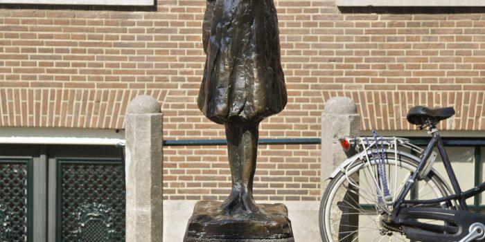 Anne Frank in Amsterdam, Holland, Europe
