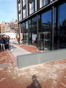 Nieuwe entree Anne Frank Huis