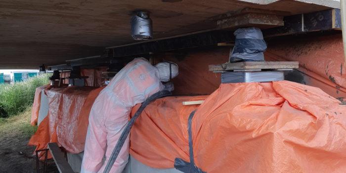 Betonreparatie Langebrug Blijham 1