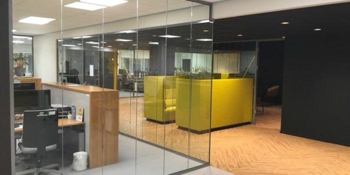 Verbouwing kantoor Centrada Lelystad
