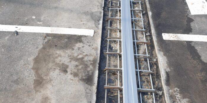 Bourtange - betonreparatie