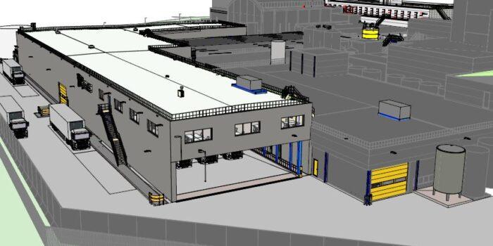 Nieuwbouw magazijn C Nestle Nunspeet