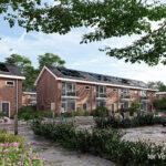 Groot onderhoud 100 woningen Broekslag Wijhe
