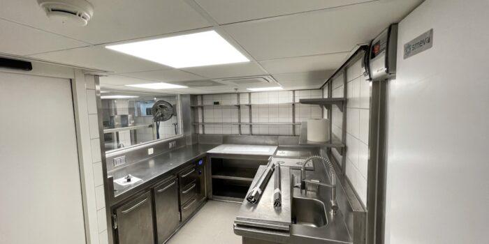 Verbouw keuken Pulitzer Amsterdam