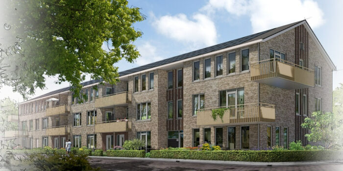 Nieuwbouw 68 appartementen Zuiderkade Emmeloord